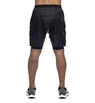 Nike Distance Elevate - kurze Runninghose - Herren, Black