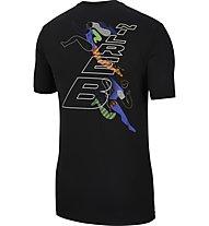 Nike Dri-FIT Men's Running - T-Shirt - Herren, Black