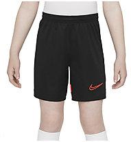 Nike  Dri-FIT Academy Big Kids' Knit - pantaloncini calcio - ragazzo, Black/Red