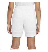Nike Dri-FIT Academy Big Kids' Knit - Fußballshorts - Kinder, White/Black