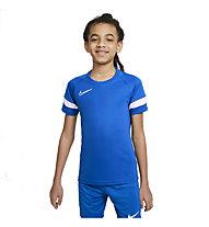Nike Dri-FIT Academy Big Kids' Short Sleeve - Fußballtrikot - Kinder, Blue
