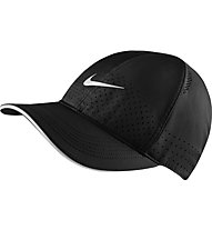 Nike Dri-FIT Aerobill Featherlight - cappellino running - uomo, Black