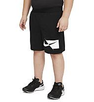 Nike Dri-FIT Big Kids' (Boys') Training - Trainingshose kurz - Jungs, Black
