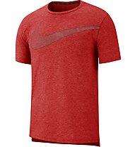 Nike Dri-FIT Breathe Men's Short-Sleeve Training Top - T-Shirt - Herren, Red
