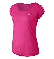 Nike Dri-FIT Cool Breeze - Damen T-Shirt, Pink