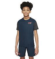 Nike  Dri-FIT CR7 - maglia calcio - ragazzo, Dark Blue/Grey/Orange