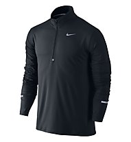 Nike Dri-FIT Element - maglia running - uomo, Black/Relf.Silver