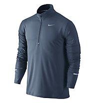 Nike Dri-FIT Element Half-Zip Laufshirt, Squadron Blue/Reflective Silver