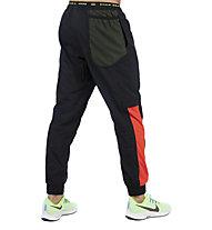 Nike Dri-FIT Flex Training - pantaloni fitness - uomo, Black/Red