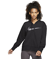 Nike Dri-FIT Get Fit Fleece Training - Trainingsjacke - Damen, Black