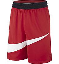 Nike Dri-FIT HBR - pantaloni basket - uomo, Red