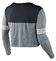 Nike Dri-FIT Knit Epic Crew Frauen, Classic Charcl/Black/Grey