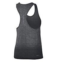 Nike Dri-FIT Knit Tank - Runningtop - Damen, Anthracite