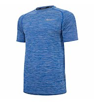 Nike Dri-FIT Knit - Kurzarmshirt Running - Herren, Blue