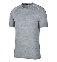 Nike Dri-FIT Knit - Kurzarmshirt Running - Herren, Grey
