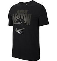 Nike Dri-FIT LeBron Basket - Basketballshirt - Herren, Black