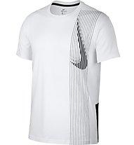 Nike Dri-FIT Men's Training Top - T-Shirt - Herren, White