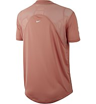 Nike Dri-FIT Miler - T-shirt running - donna, Rose