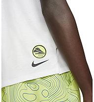 Nike  Dri-FIT Miler Ekiden Running - maglia running - uomo, White