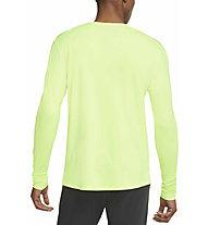 Nike  Dri-FIT Miler Running - maglia a maniche lunghe - uomo, Green