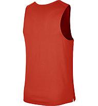 Nike Dri-FIT Miler Wild Run Graphic Run - top running - uomo, Orange