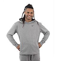Nike Dri-FIT Training Hoodie - felpa con cappuccio - uomo, Grey