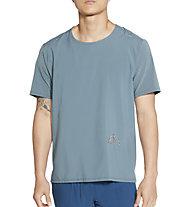 Nike Dri-FIT Rise 365 Trail Running - Trailrunningshirt - Herren, Light Blue