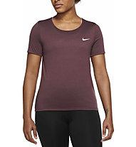 Nike Dri-FIT Run Division - Laufshirt - Damen, Dark Red