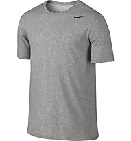 Nike Dri-FIT SS Versiom 2.0 T-Shirt Training, Grey