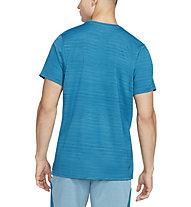 Nike Dri-FIT Superset S-S Training - Trainingshirt - Herren, Light Blue