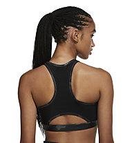 Nike Dri-FIT Swoosh Sports Bra - reggiseno sportivo - donna , Black