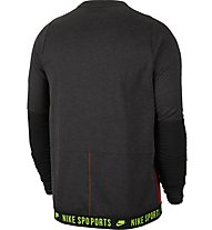 Nike Dri-FIT Therma Long-Sleeve - Langarmshirt - Herren, Black
