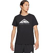 Nike Dri-FIT Trail - t-shirt trailrunning - uomo, Black