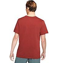 Nike Dri-FIT Trail - Trailrunningshirt - Herren, Red