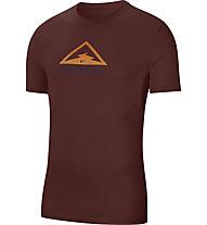 Nike Dri-FIT Trail Men's - Trailrunningshirt - Herren, Red