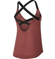 Nike Dri-FIT Training - top fitness - donna, Red