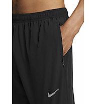 Nike  Dri-FIT UV Challenger Woven Hybrid Running - pantaloni running - uomo, Black