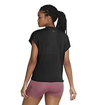 Nike Dri-FIT W's SS TT - Top - Damen, Black