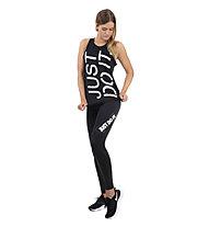 Nike Dri-FIT Training - top fitness - donna, Black