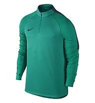 Nike Dril Top Squad Herren-Langarm-Fußballtrikot, Teal