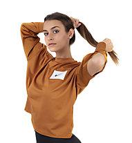 Nike Dry-Fit Running Crew - Langarmlaufshirt - Damen, Orange