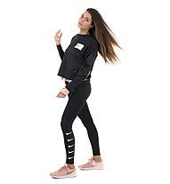 Nike Dry-Fit Running Crew - Langarmlaufshirt - Damen, Black