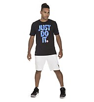 Nike Dry Pool JDI - T-Shirt - Herren, Black