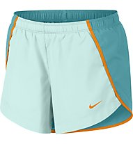 Nike Dry Running Short - pantaloni running - ragazza, Light Blue