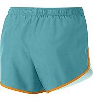 Nike Dry Running Short - pantaloni running - ragazza, Light Blue