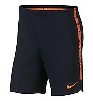 Nike Dry Squad Football - kurze Fußballhose - Herren, Black/Orange
