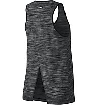 Nike Dry Studio - Trägershirt Fitness - Damen, Grey