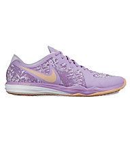 Nike Dual Fusion TR 3 Print Trainingsschuh Damen, Light Purple