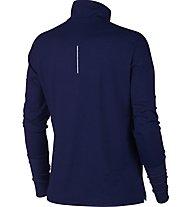 Nike Element - maglia a maniche lunghe running - donna, Blue