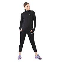 Nike Element - Laufshirt Langarm - Damen, Black